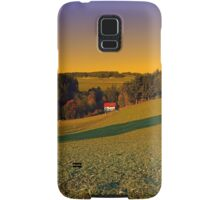 Beautiful sundown in the countryside | landscape photography Samsung Galaxy Case/Skin