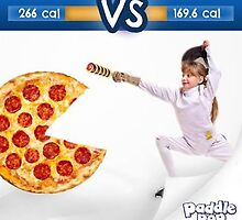 Pizza vs Paddle Pop by PaddlePop