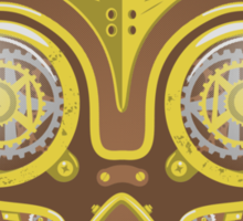 Majoras Mask Steampunk Sticker