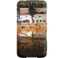 River reflections at the mill | waterscape photography Samsung Galaxy Case/Skin