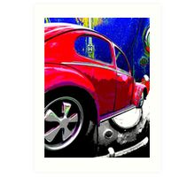 Patina Beetle Art Print