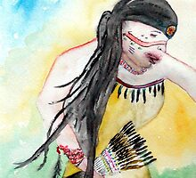 Native Regalia Dance by parichumroo