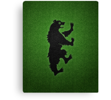 House Mormont (Game of Thrones) Canvas Print