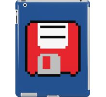 Floppy Disk - Red iPad Case/Skin