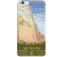 Zion National Park iPhone Case/Skin