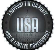 I Support The Tea Party by morningdance