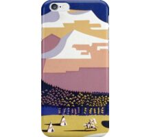 See America, Welcome to Montana iPhone Case/Skin