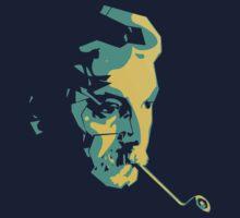 Georges Brassens by HenriFdz