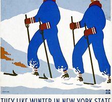 They Like Winter in New York State by Vintagee