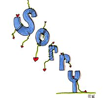 """Sorry is a 5 Letter Word"" SS2 by Elicia"