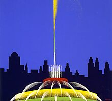 Buckingham Fountain by Vintagee