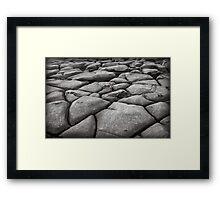 ~ fracture ~ Framed Print