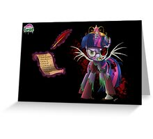 TwilightZombie - Poster Greeting Card