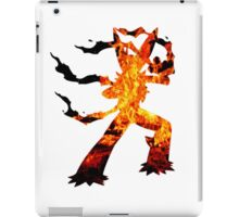Mega Blaziken used Blast Burn iPad Case/Skin