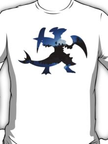 Mega Garchomp used Night Slash T-Shirt