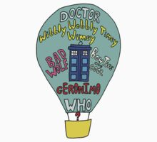 Doctor who- Air baloon by Rainpotion