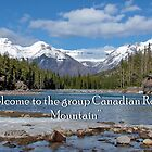 BANNER - Canadian Rocky Mountains group by AnnDixon