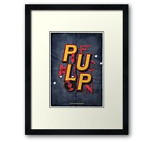 Pulp Fiction Framed Print