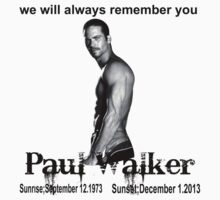 paul walker by diannasdesign