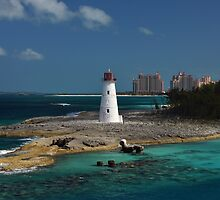 Nassau Harbour Lighthouse by Bill Swartwout Photography