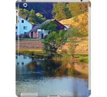 A summer evening along the river II | waterscape photography iPad Case/Skin