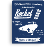 Rocket 88 Clutch Canvas Print