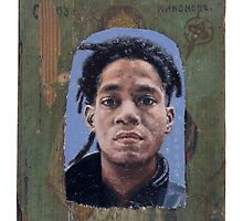 Portrait of Jean-Michel Basquiat by robertpriseman