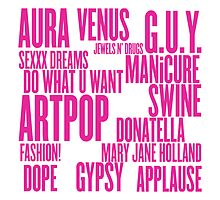 ARTPOP (White) by ARTP0P