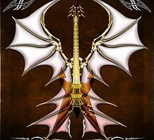 Dark Angel Heavy Guitar by Bluesax