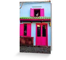 colourful cunda Greeting Card