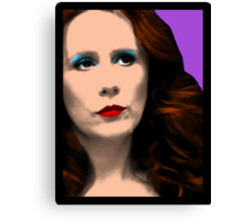 Donna Noble Pop Art Canvas Print