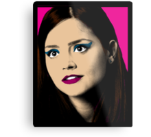 Clara Oswald Pop Art Metal Print