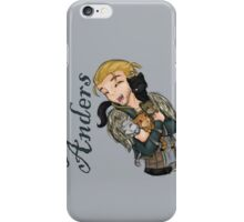 Anders with kittens iPhone Case/Skin