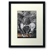 Teeth and the Hips Framed Print