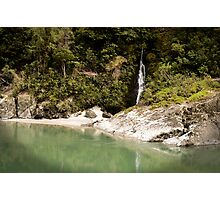 Little Waterfall, Buller River Photographic Print
