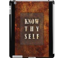 Know Thyself iPad Case/Skin