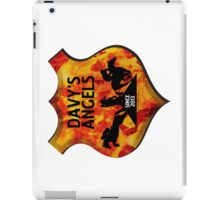 Davy's Angels Badge iPad Case/Skin
