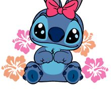 Cute Stitch in pink by LikeYou