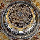 Cupola of the church of Melk - Austria by Arie Koene
