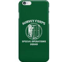Survey Corps White iPhone Case/Skin