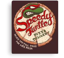 Speedy Turtle Canvas Print