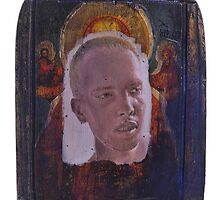 Portrait of Ray Johnson by robertpriseman