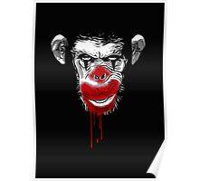 Evil Monkey Clown Poster