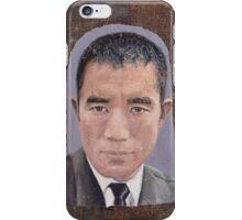 Portrait of Yukio Mishima  iPhone Case/Skin