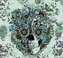 Constant, sunflower skull by KristyPatterson