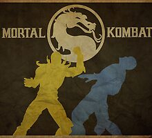 Mortal Kombat Poster by edwardjmoran
