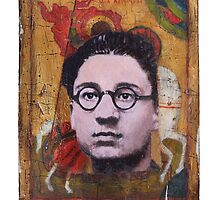 Portrait of Cesare Pavese by robertpriseman
