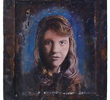 Portrait of Sylvia Plath by robertpriseman