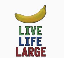 Live Life Large - T-Shirt + Hoodie by Samtees