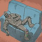 Drunk Iron Man by Marc Lawrence